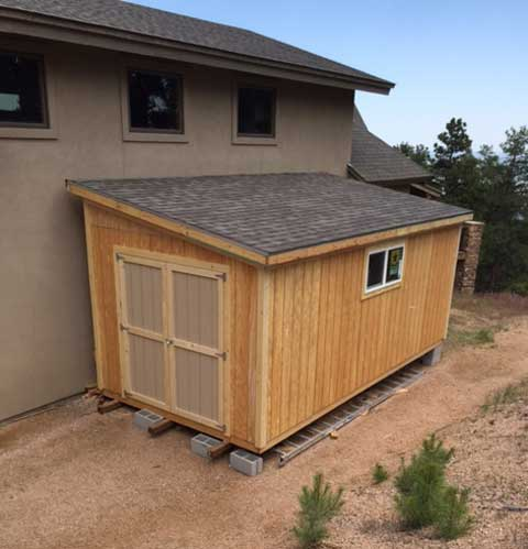 Escape Mobile Cabin likewise Firewood Shed Plans together with Choice Build Small Shed Foundation in addition Carports as well Two Story Barns. on lean to sheds delivered