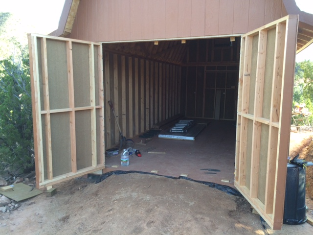 25 Double Shed Door Framing