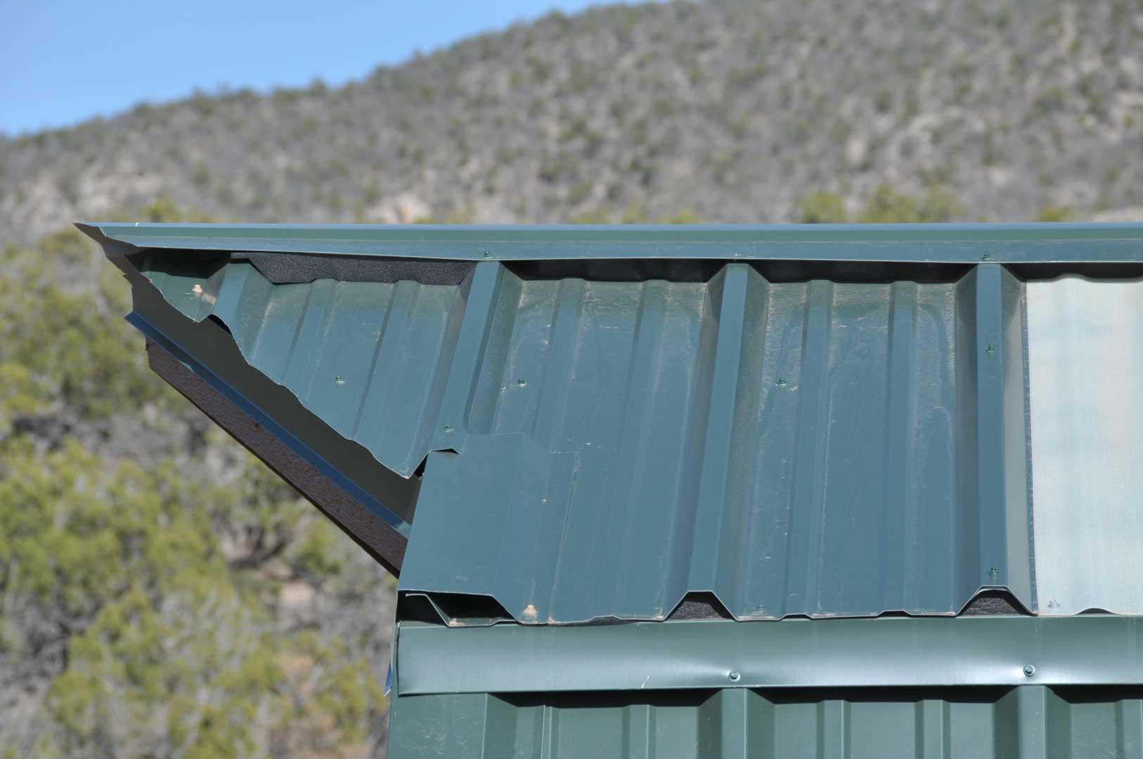 Crows Beak Flashing And Details.