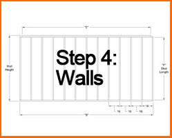 Step 4: Walls