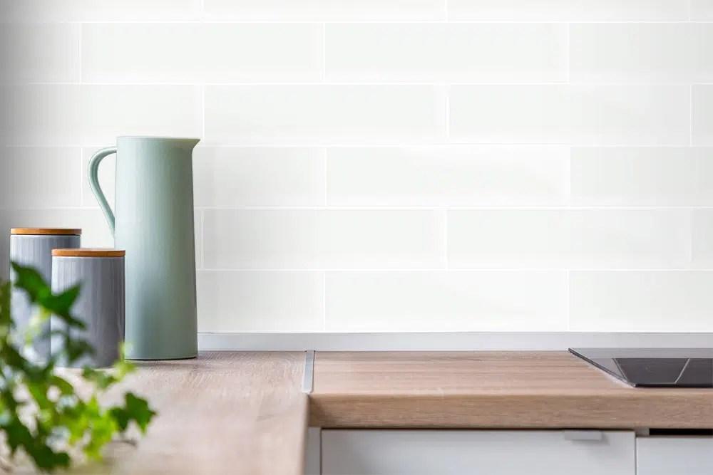 white gloss subway internal gloss wall tiles 75x300