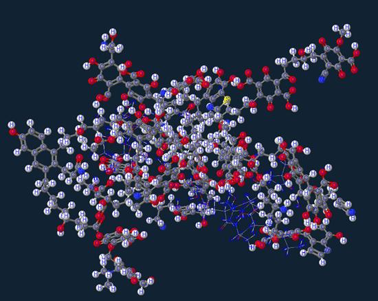 Humic Acid molecule