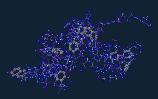 Aromatic carbon molecule