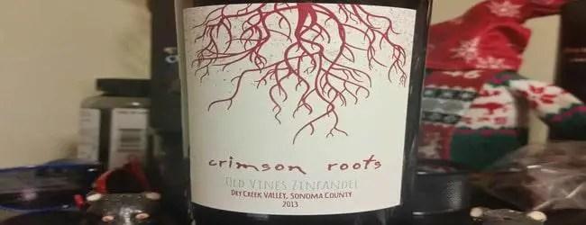 Crimson Roots Old Vines Zinfandel 2013