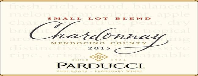 Parducci Small Lot Mendocino County Chardonnay 2015