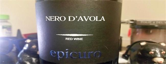 "Epicuro Nero d""Avola 2015"