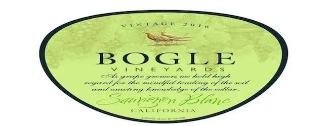 Bogle Vineyards Sauvignon Blanc 2016