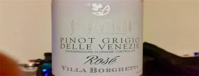 Villa Borghetti Pinot Grigio Rosé 2017