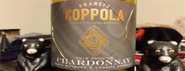 Coppola Diamond Collection Pavilion Chardonnay 2016