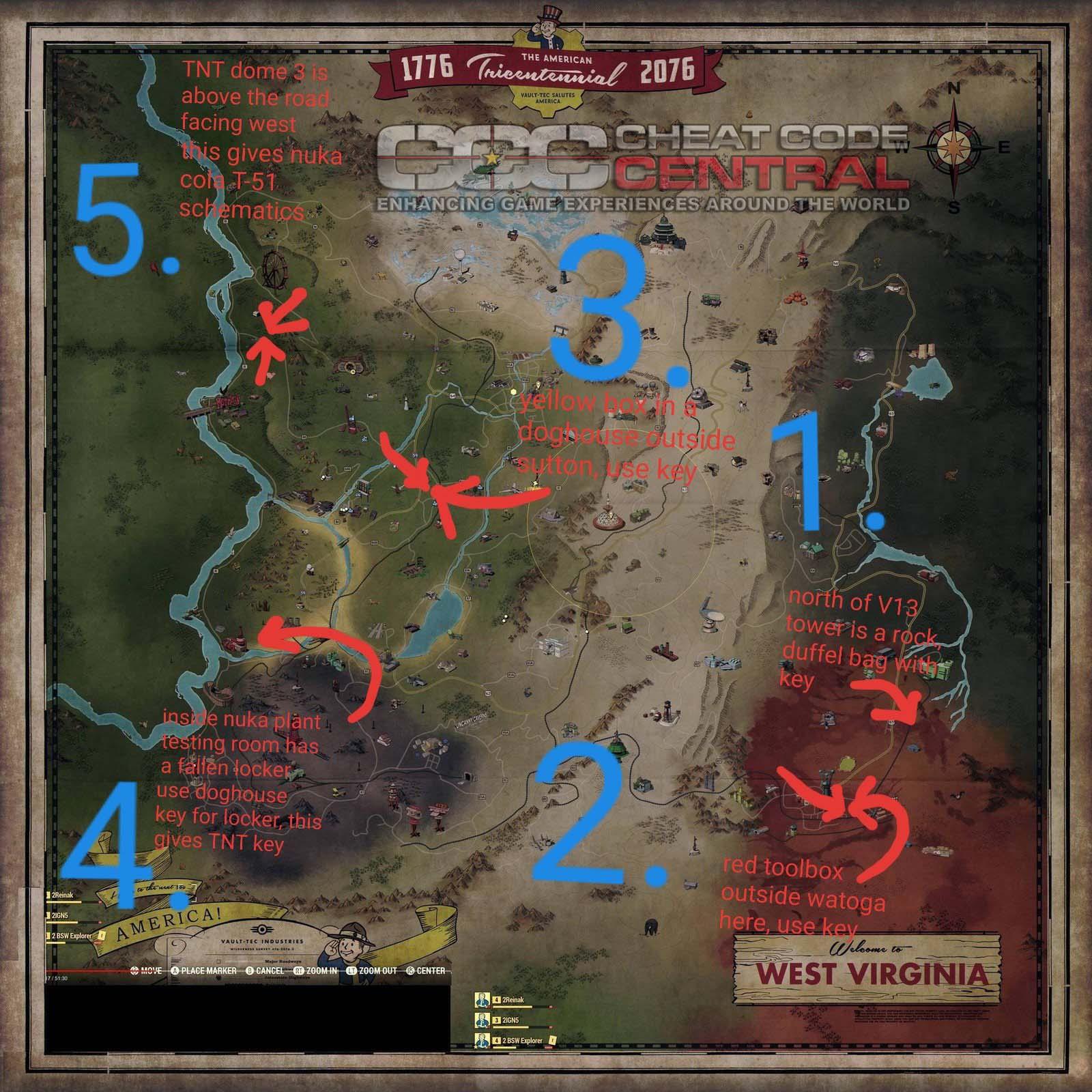 Fallout 76 Cheats Codes Cheat Codes Walkthrough Guide FAQ Unlockables For Xbox One