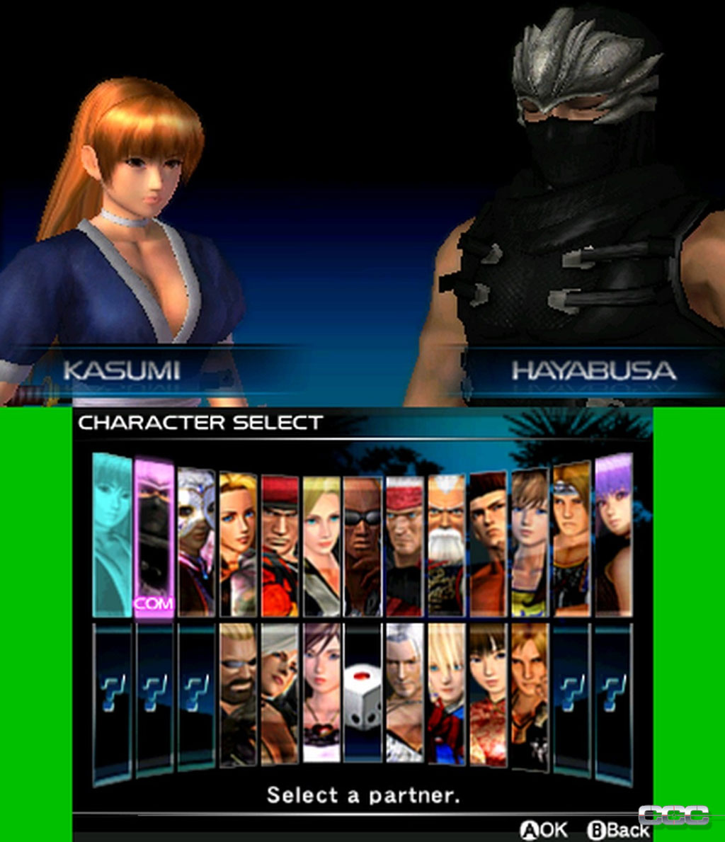 Dead Or Alive Dimensions Review For Nintendo 3DS Cheat Code Central