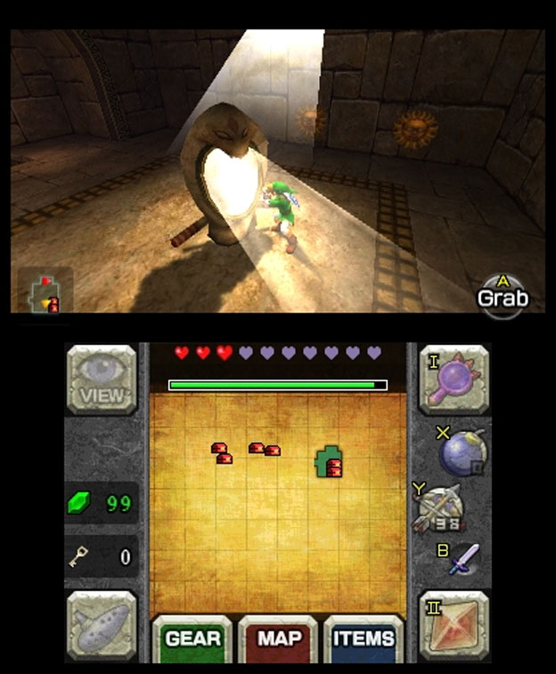 The Legend Of Zelda Ocarina Of Time 3D Review For Nintendo 3DS Cheat Code Central