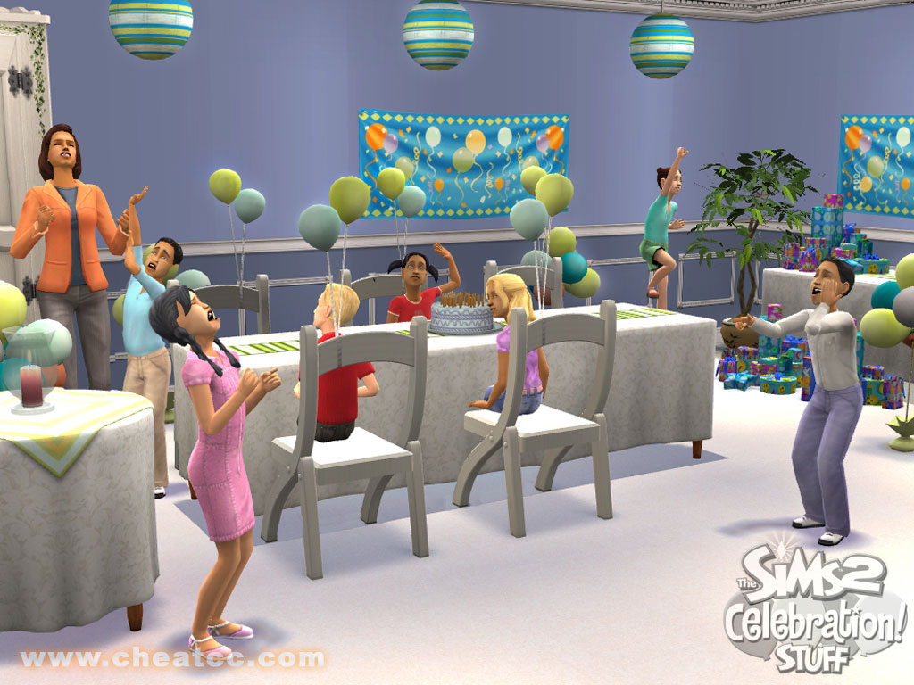 The Sims 2 Celebration Stuff Expansion Review For PC
