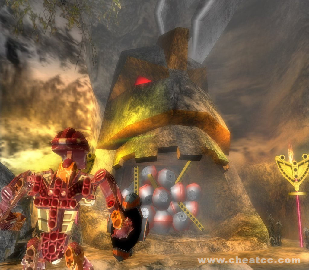 Bionicle Heroes Review For PC