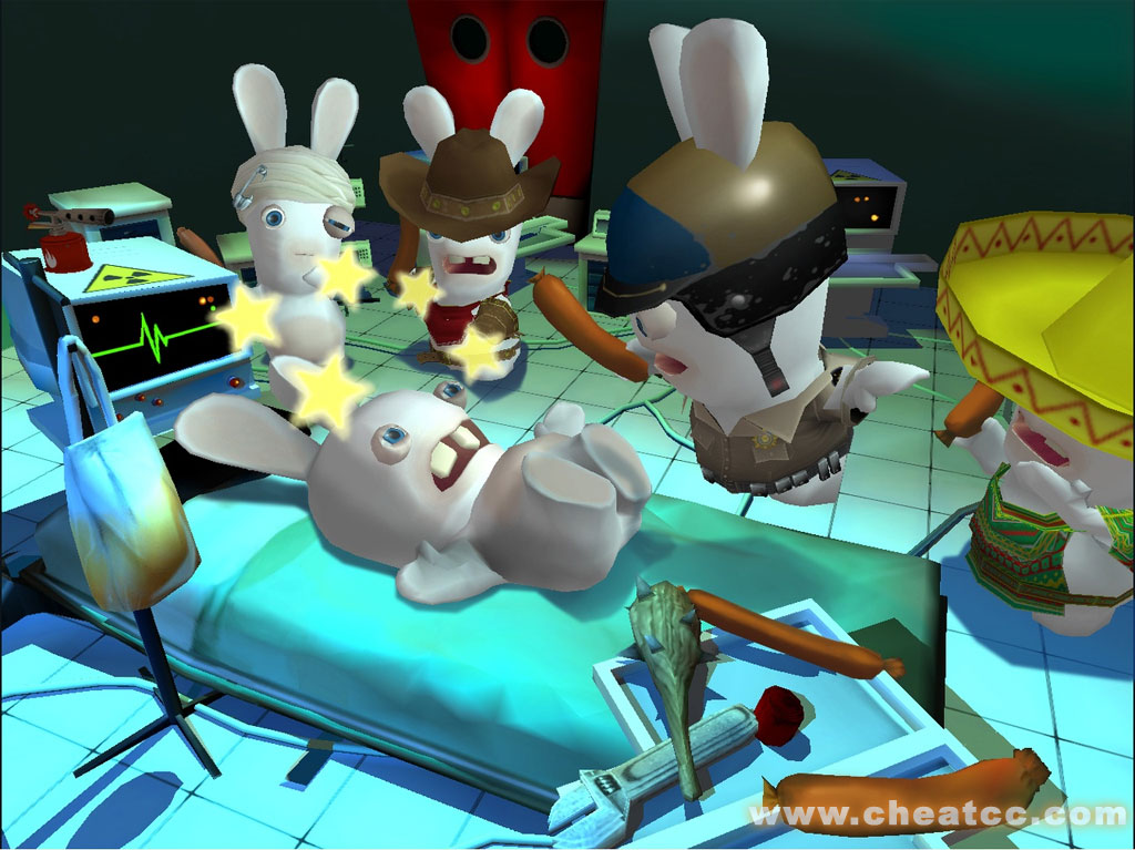 Rayman Raving Rabbids 2 Review For The Nintendo Wii