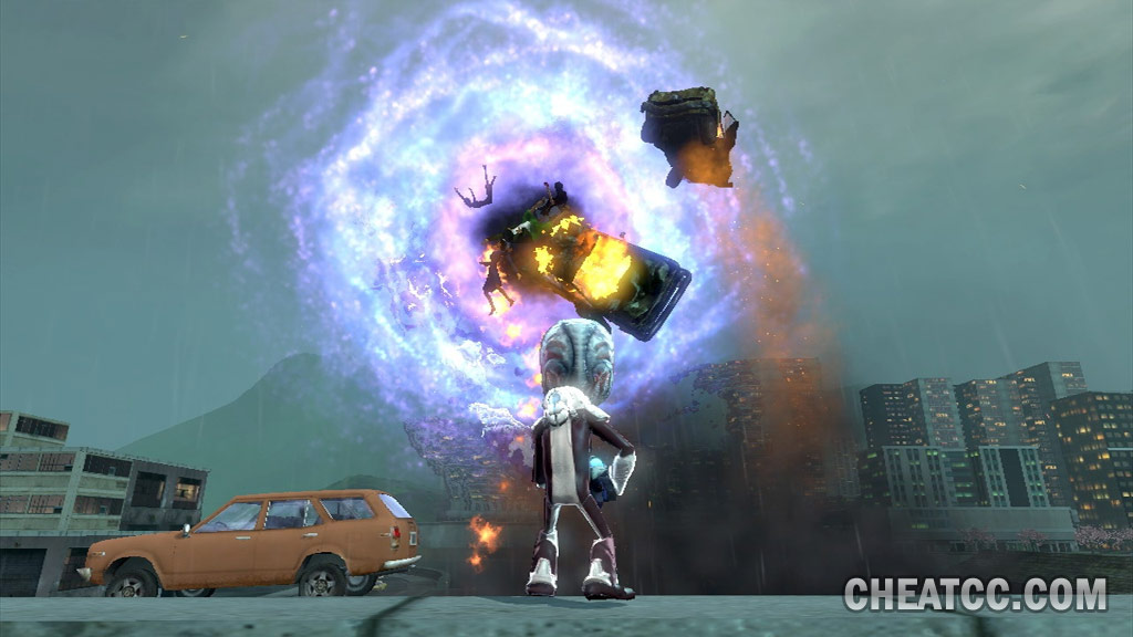 Destroy All Humans Path Of The Furon Review For Xbox 360