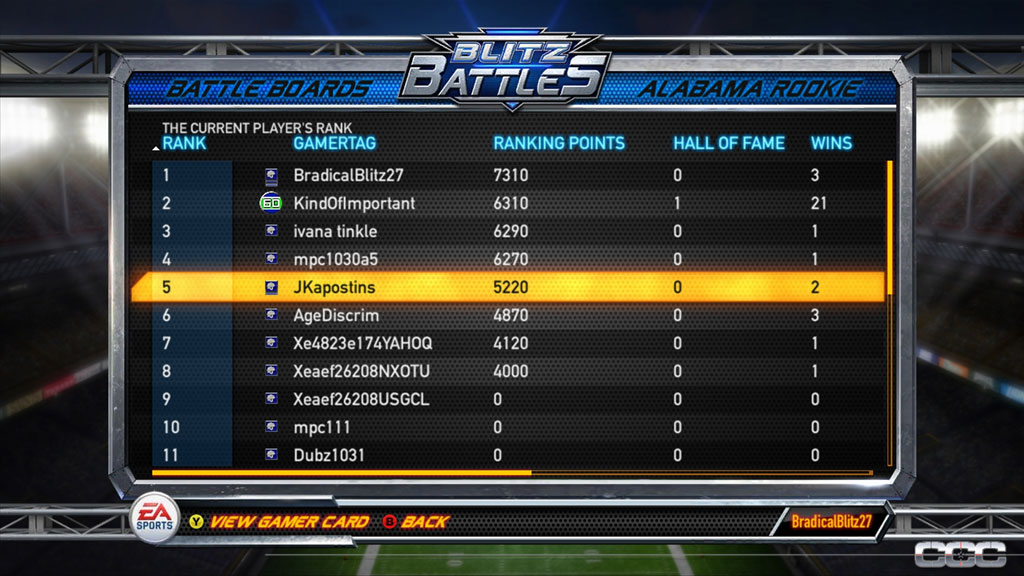 NFL Blitz Review For Xbox 360 Cheat Code Central