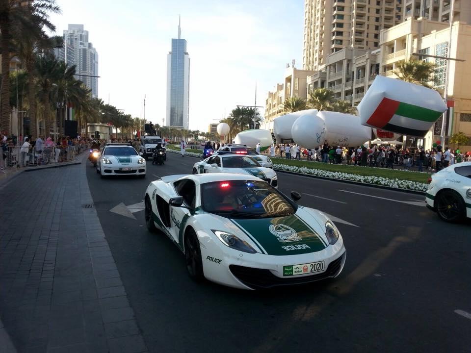 Dubai Police car