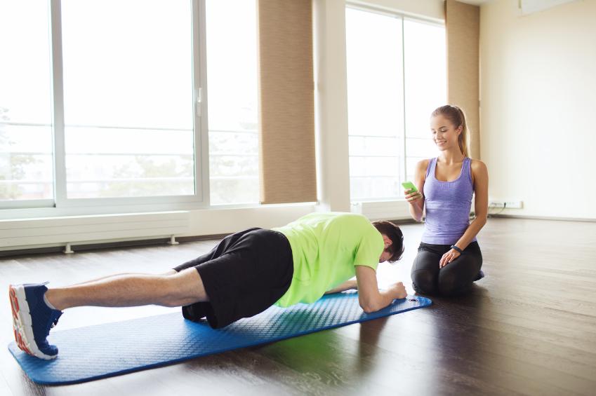 planks, gym