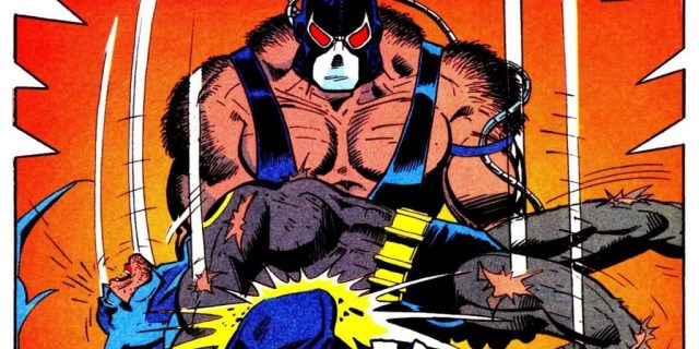 Batman - Knightfall comic