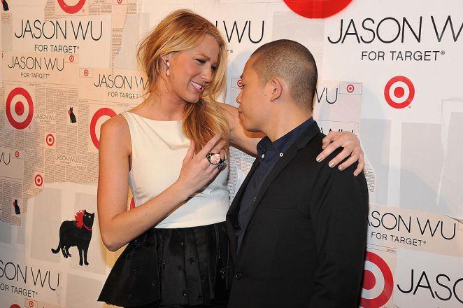 Actress Blake Lively and designer Jason Wu