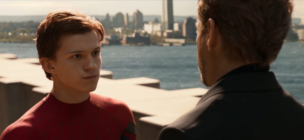 Image result for peter parker 2017