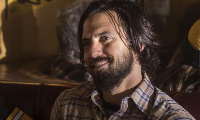 Jack Pearson smiling in a scene from Season 1 of NBC's 'This Is Us.'