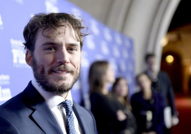 Actor Sam Claflin attends the closing night screening of 'Their Finest'