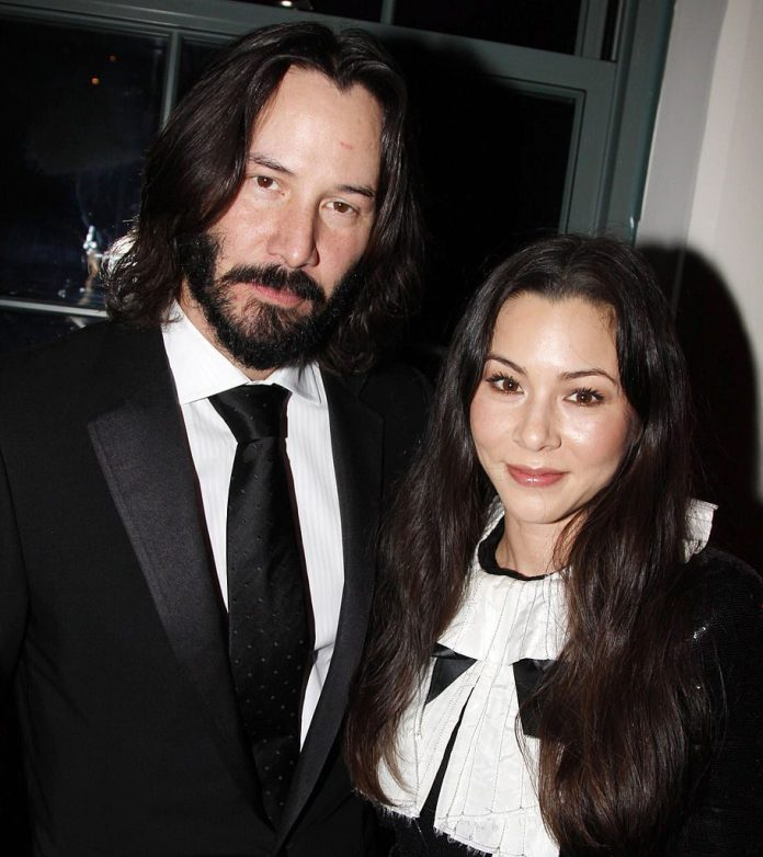 Keanu Reeves and China Chow