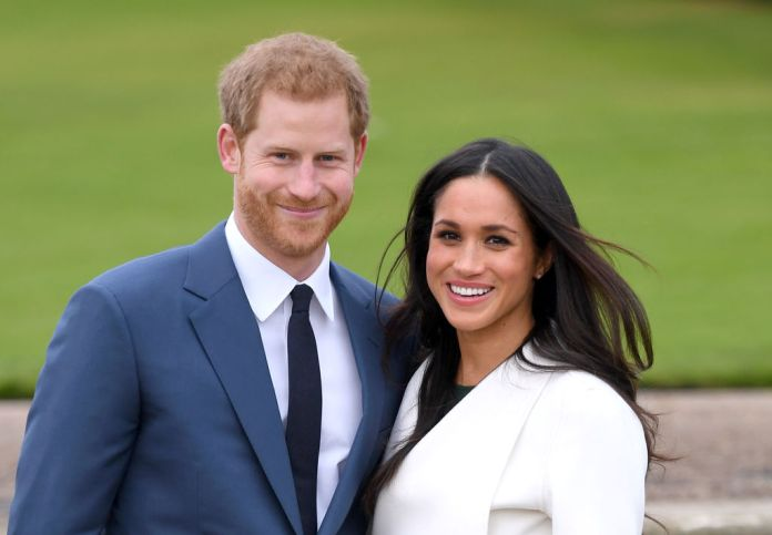 Meghan Markle and Prince Harry attend photocall after engagement announcement