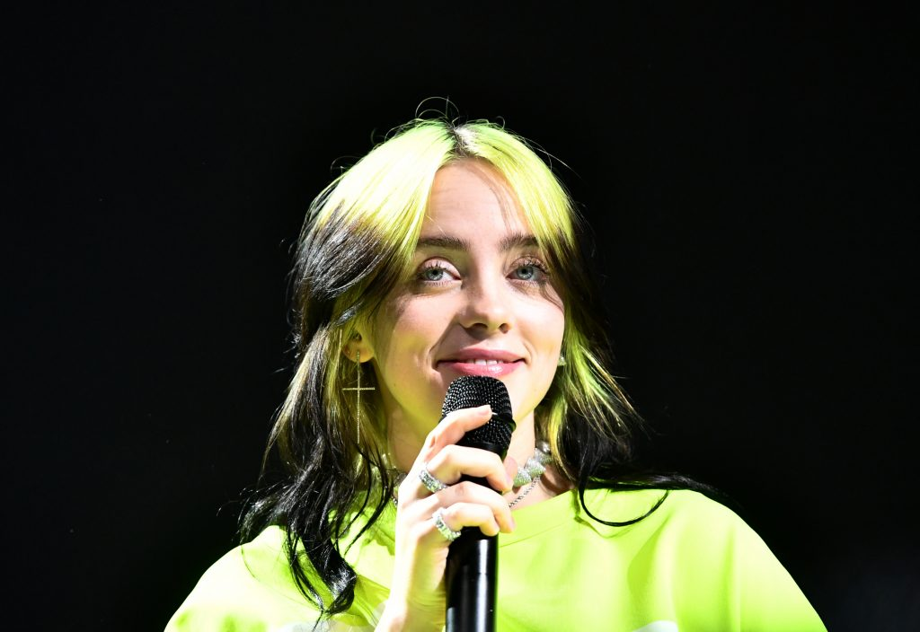 Billie Eilish will take to the stage at Spotify Hosts