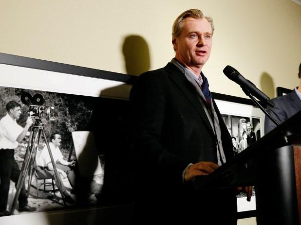 Christopher Nolan at Kodak Film Awards