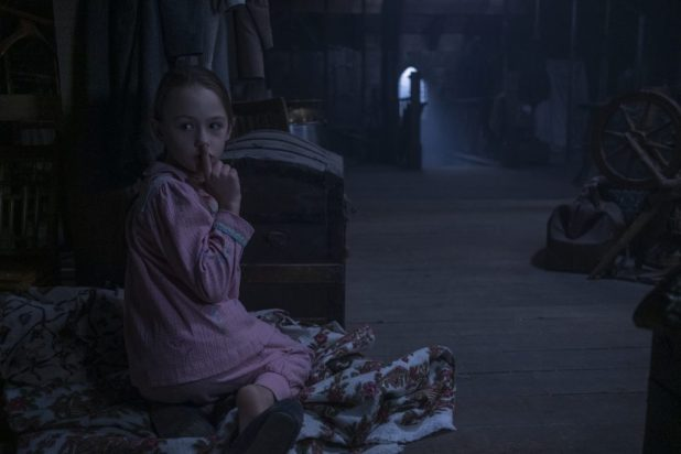 Emily Bay Smith as Flora in 'The Howling of Belly Manor'