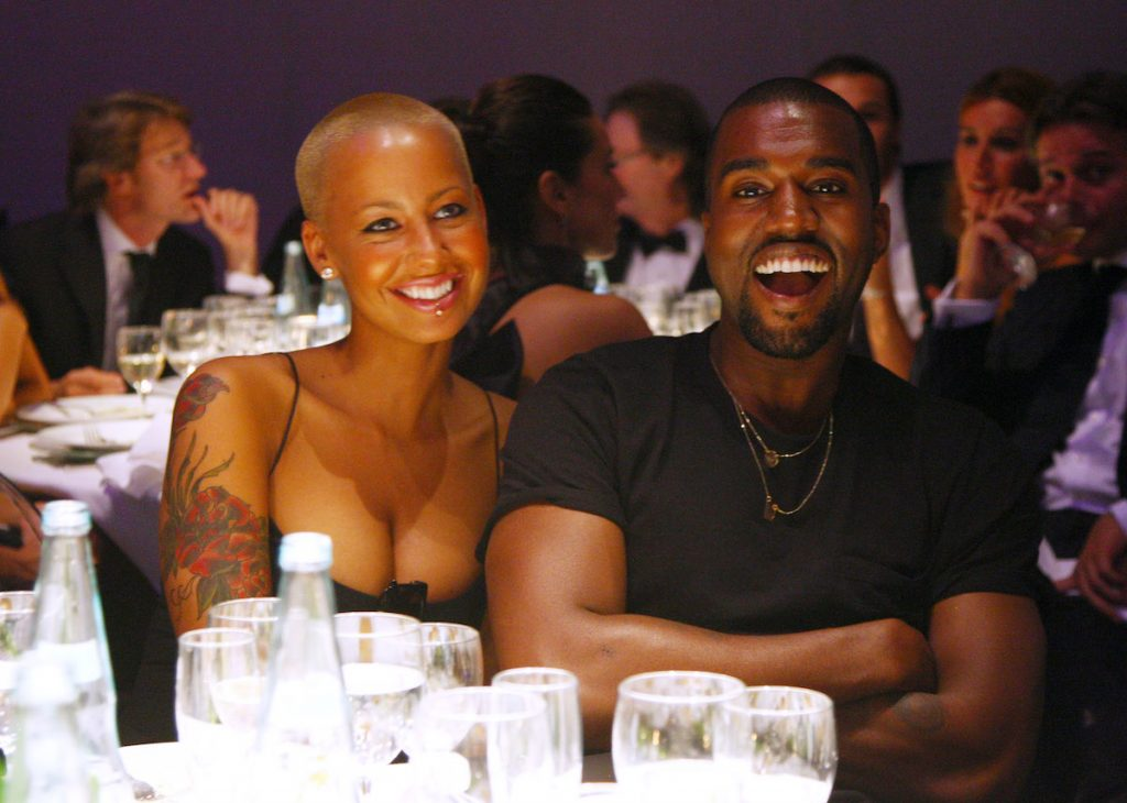 Amber Rose and Kanye West will be present at the 2009 amfAR Milano Dinner, Milan Fashion Week event at La Permanente on 28 September 2009 in Milan, Italy.