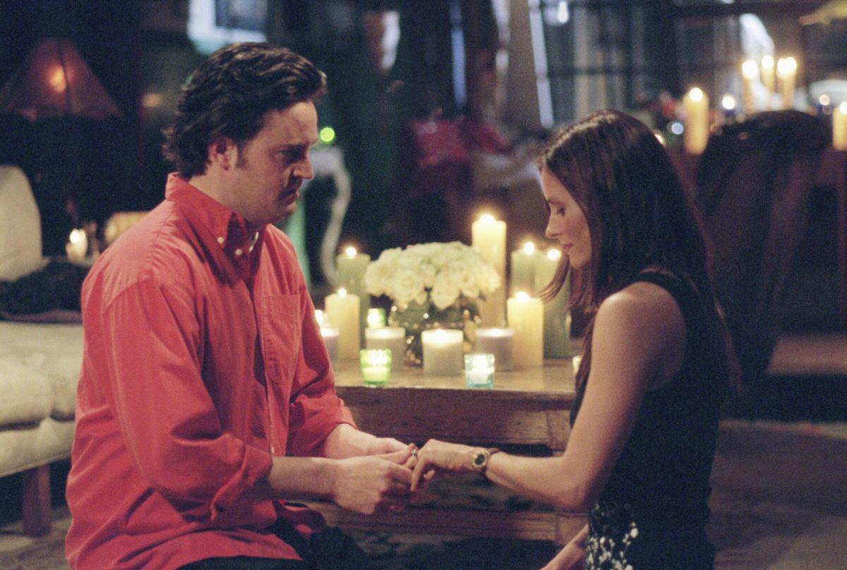 Chandler praises Monica