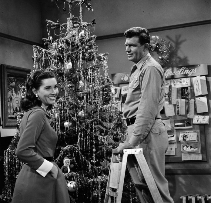 Elinor Donahue, left, and Andy Griffith in a scene from 'The Andy Griffith Show'
