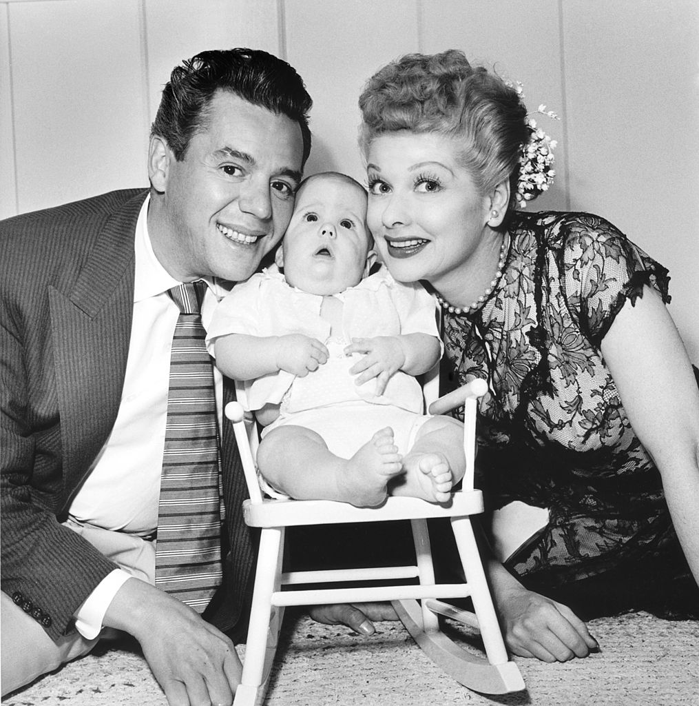 I Love stars Lucy Desi Arnaz and Lucille Ball
