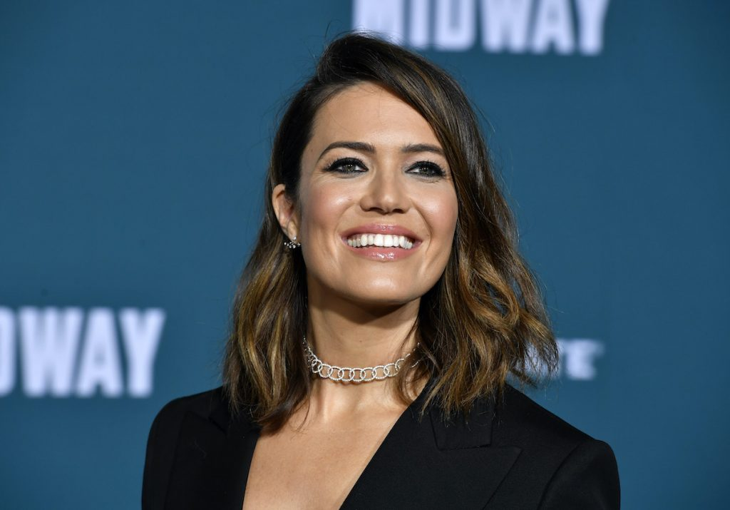 Mandy Moore at the first look of 'Midway'