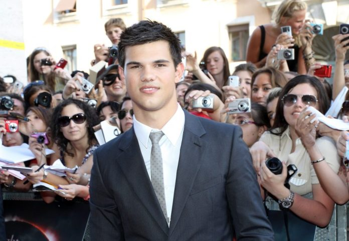 Taylor Lautner star of the Twilight movies