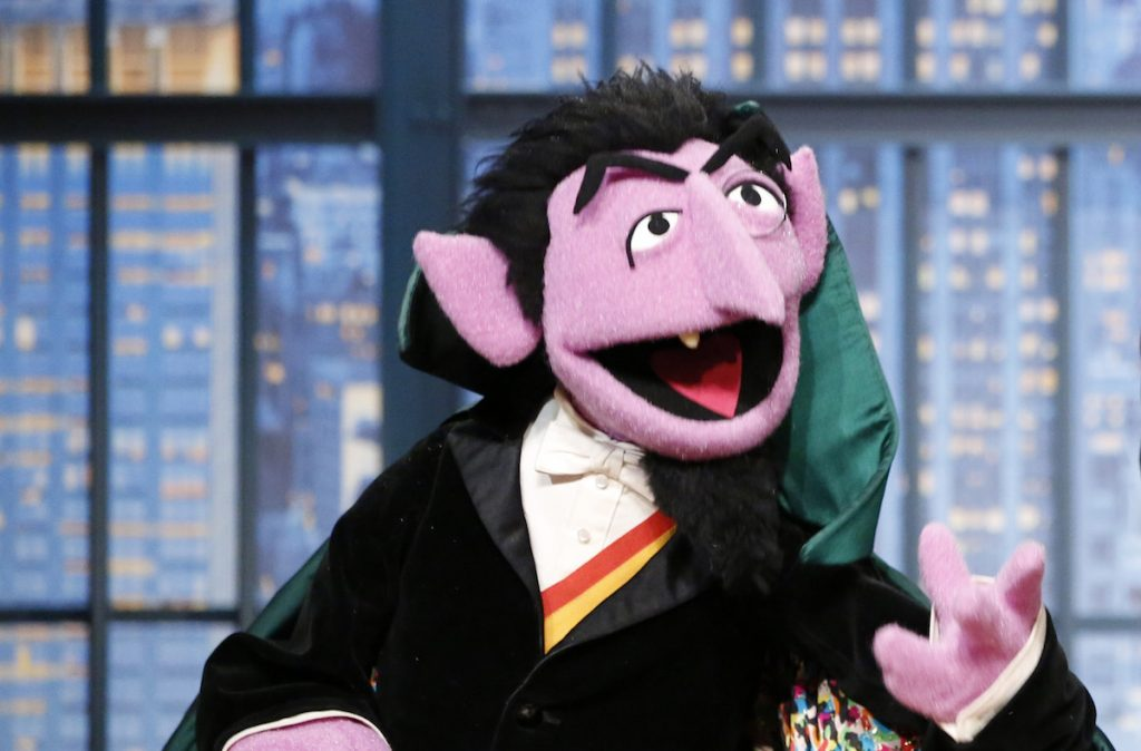 The count on Sesame Street