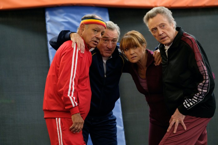Cheech Marin, Robert De Niro, Jane Seymour, and Christopher Walken