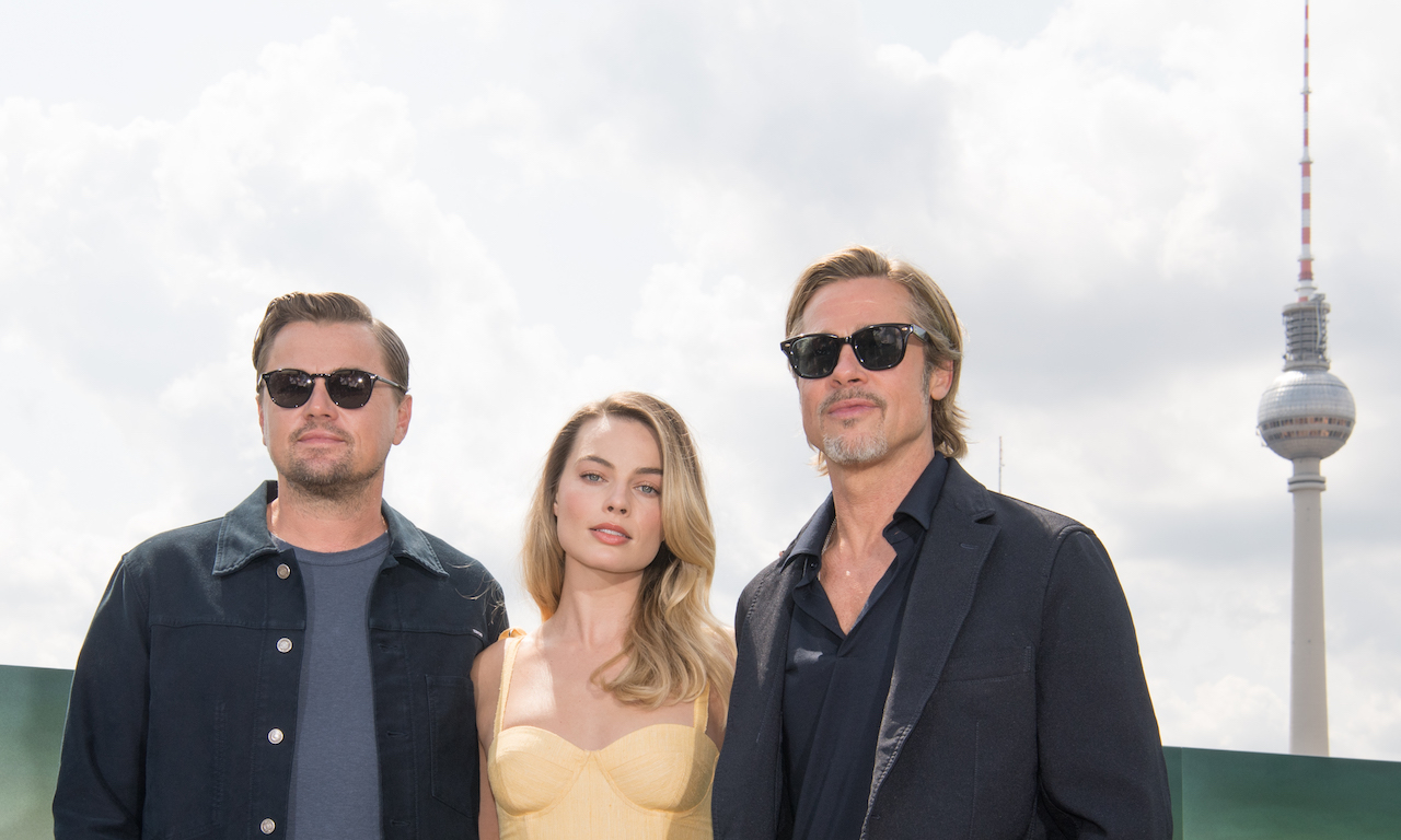 Brad Pitt and Margot Robbie