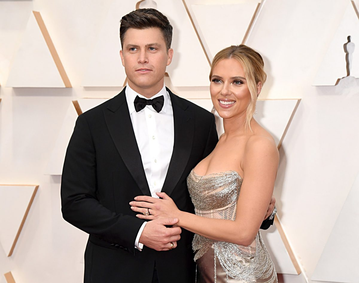 (LR) Colin Jost and Scarlett Johansson will attend the 92nd Annual Academy Awards on 9 February 2020