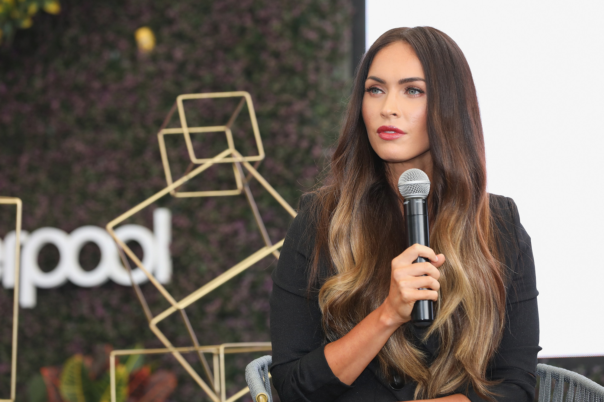 Megan Fox at a press conference at the Liverpool Fashion Festival in autumn / winter 2017 at Liverpool Insurgentes on 6 September 2017.