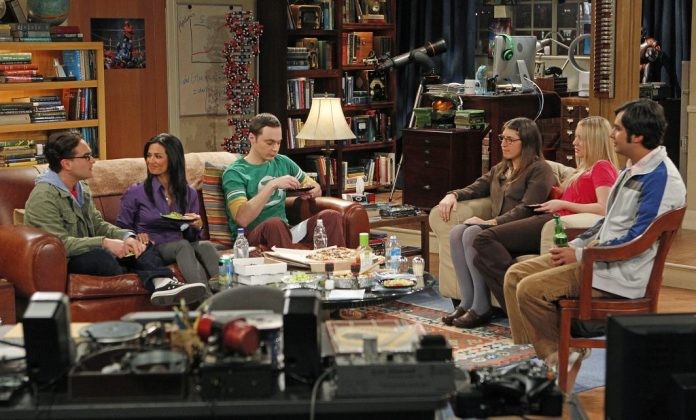 The crew of 'The Big Bang Theory' will enjoy dining in Leonard and Sheldon's living room