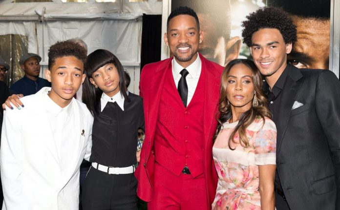 "Jaden Smith, Willow Smith, Will Smith, Jada Pinkett Smith and Trey Smith will attend the first ""After Earth"" premiere"
