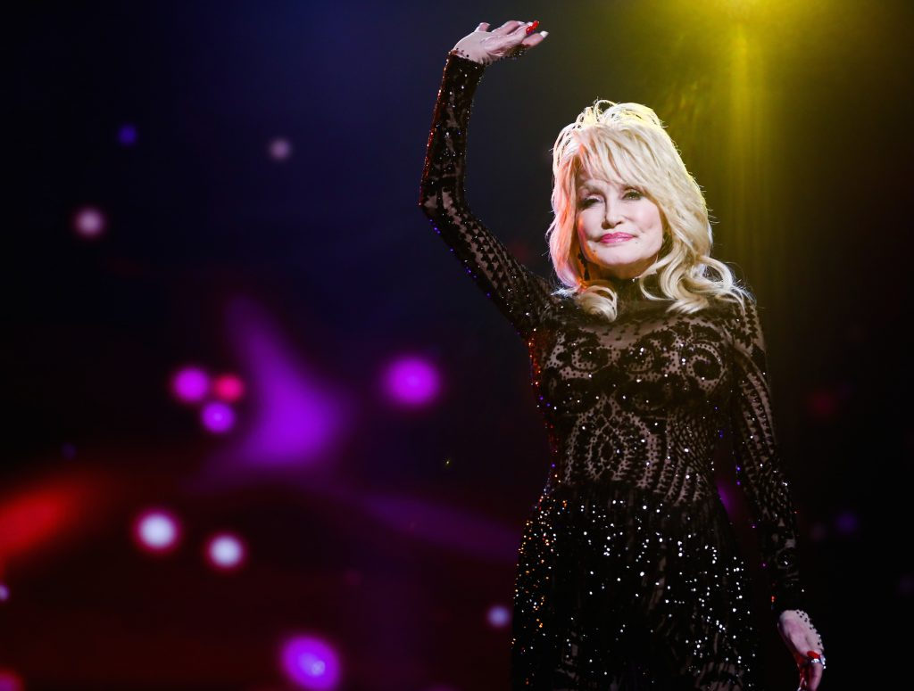 Dolly Parton attends MusiCares Person of the Year