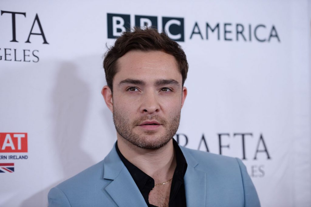 Ed Westwick arrives for the 2017 America America BAFTA Los Angeles TV Tea Party