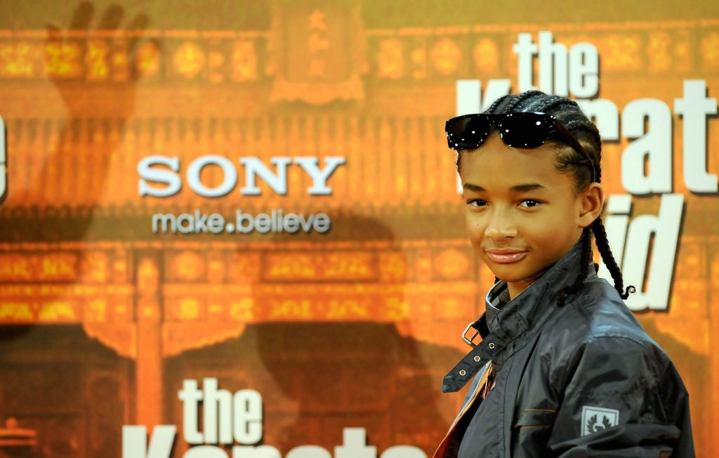 Jaden Smith attends '' The Karate Kid ''