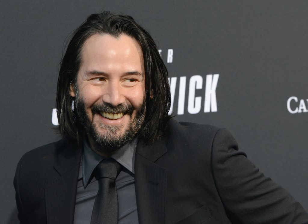 Keanu Reeves at the screening of 'John Wick: Chapter 3 - Parabellum'